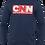 Thumbnail: CNN Cartoon News Network Long sleeve t-shirt