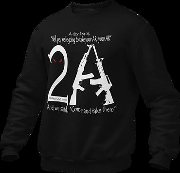 mockup-of-a-ghosted-crewneck-sweatshirt-