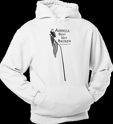 America: Bent Nor Broken Unisex Hoodie