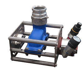 "3"" Ductile Iron Pump with Double Bearings"