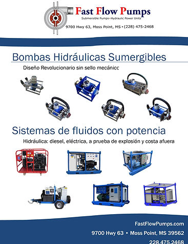Fast Flow Pumps SPanish Catalog COver.jp