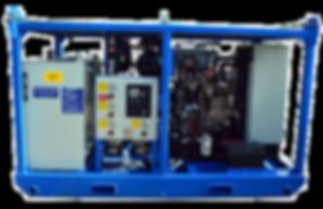 154 HP Skid Mounted Diesel Hydraulic Power Unit
