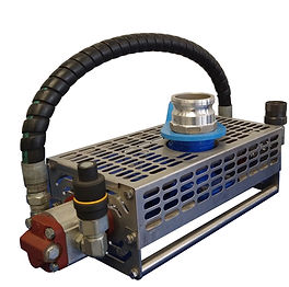 Hydraulic Submersible Pump with Twin Agitators