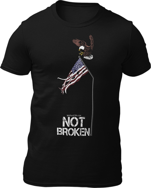 Not Broken Short-Sleeve Unisex T-Shirt