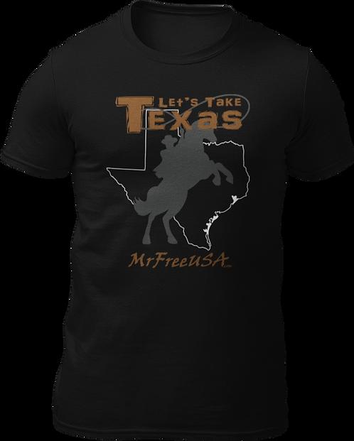 Let's Take Texas Short-Sleeve Unisex T-Shirt