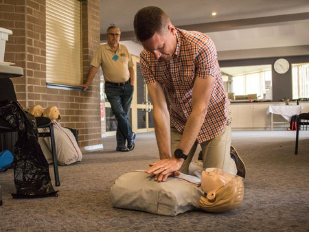 Carers Week First Aid