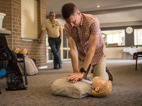 Carers Week First Aid