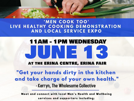 Men's Health Week - 6 Weeks to go!