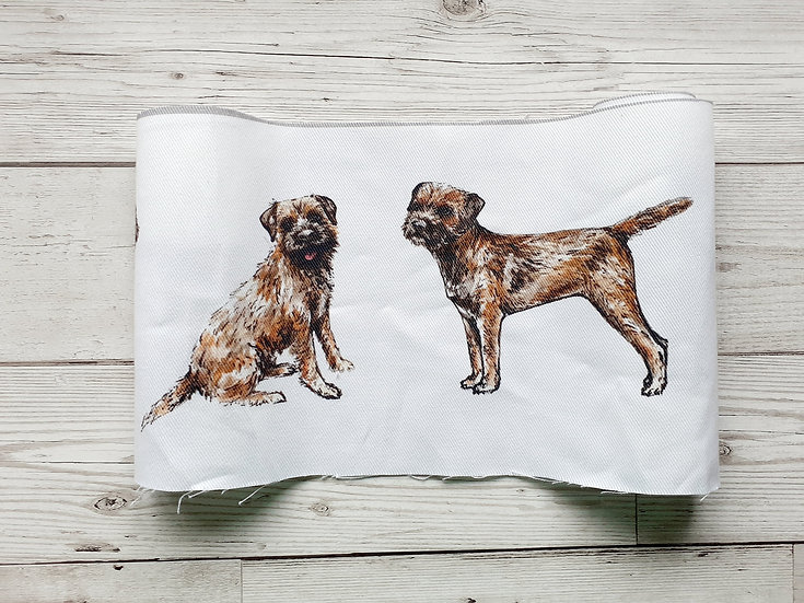Border Terrier Face Mask Pouch