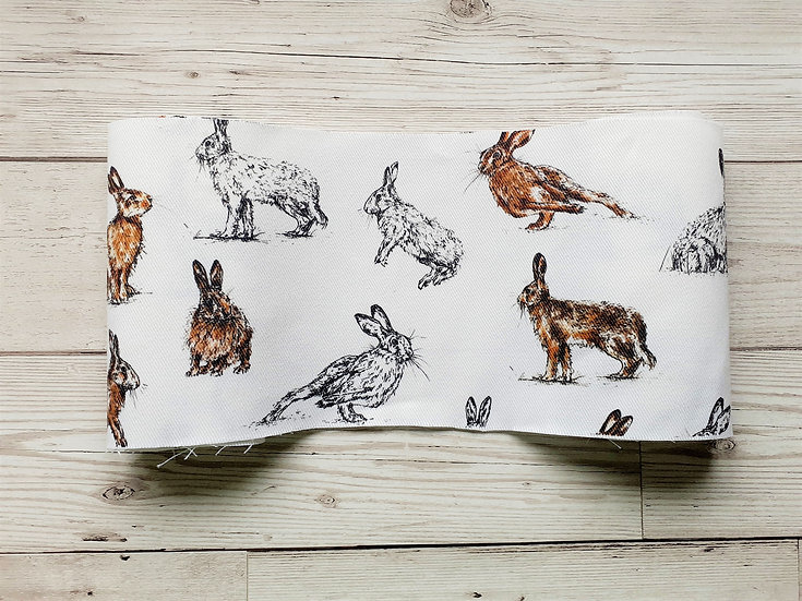 Hares Face Mask Pouch