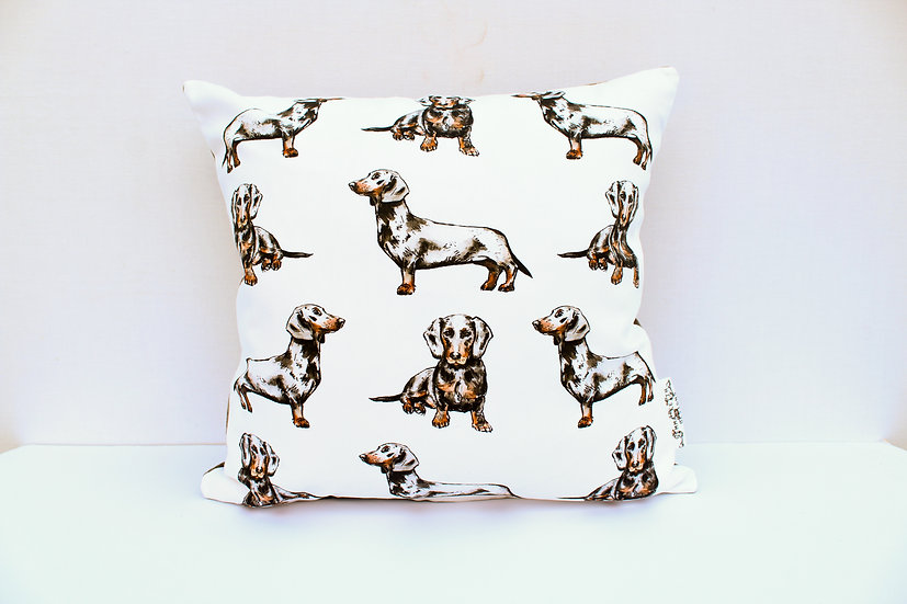 Dachshund Dog Cushion