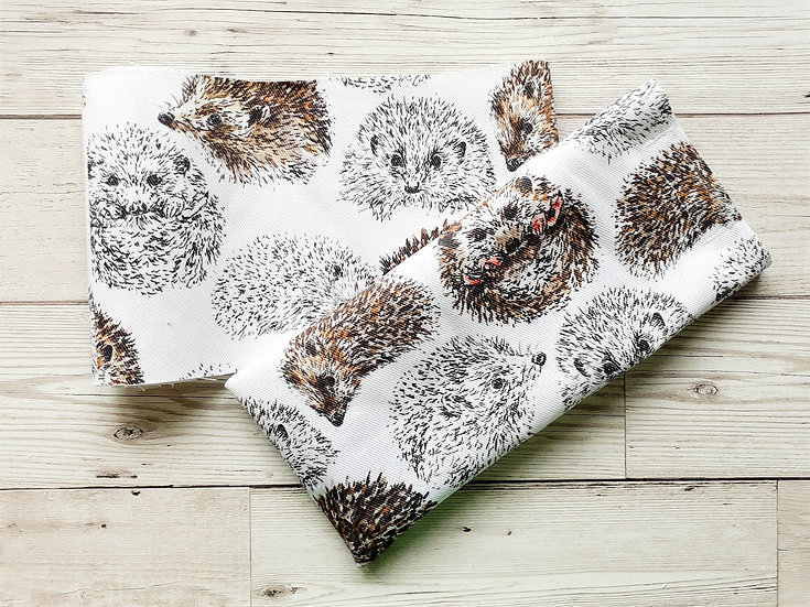 Hedgehogs Face Mask Pouch