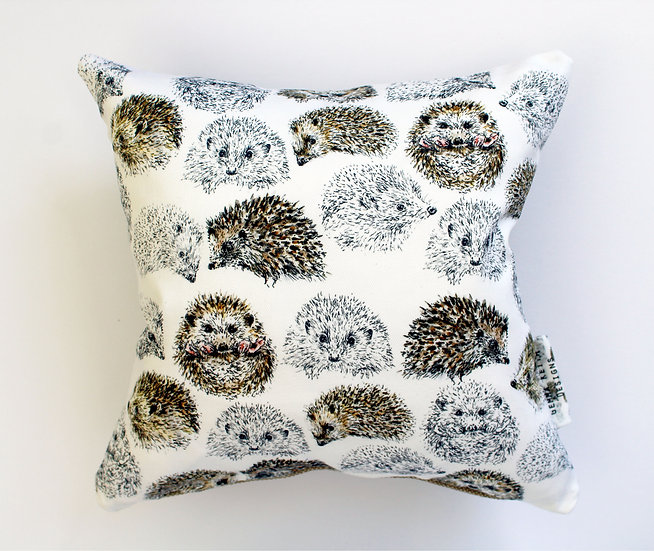 Hedgehogs Cushion