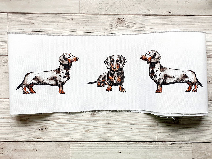 Dachshund Face Mask Pouch