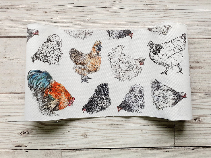Chickens Face Mask Pouch