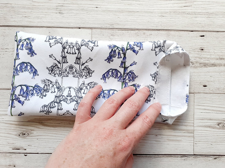 Bluebells Face Mask Pouch