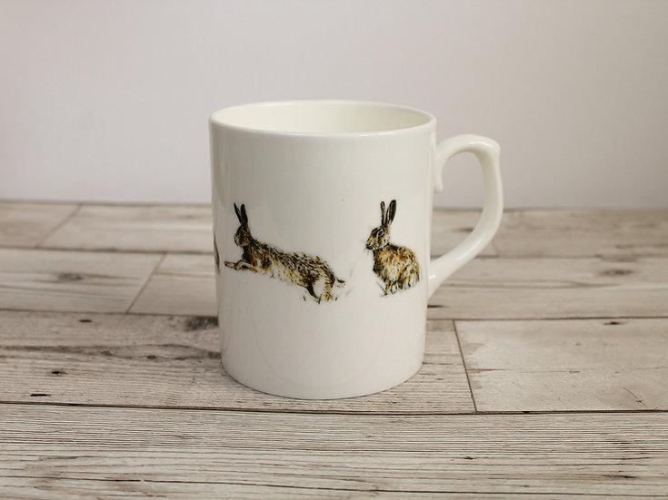 Hares Bone China Mug