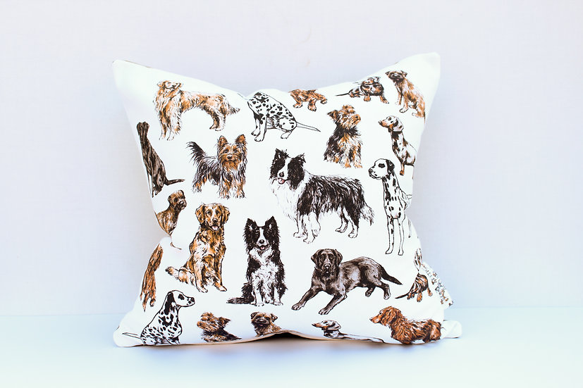 Lots of Dogs Cushion