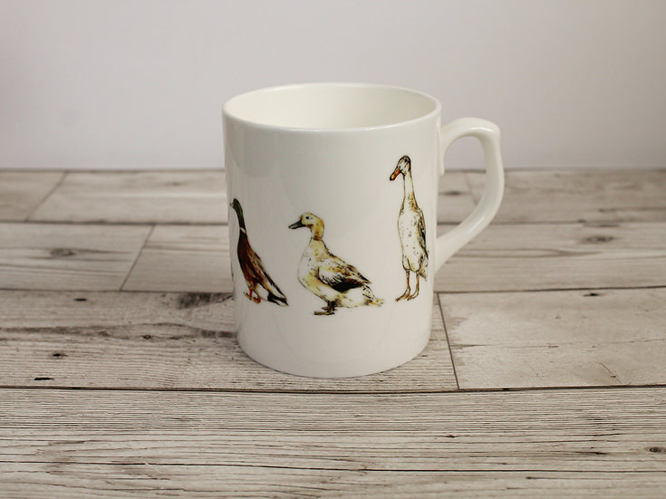 Ducks Bone China Mug