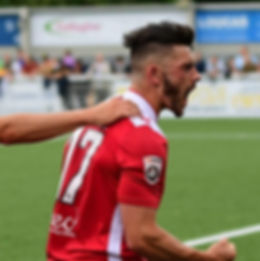 Callum Powell scoring on Wrexham FC debut