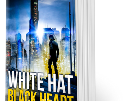 Enter to win 1 of 20 signed paperback copies of White Hat Black Heart