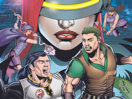 Cyber Teen Project Graphic Novel: Issue 0 now available