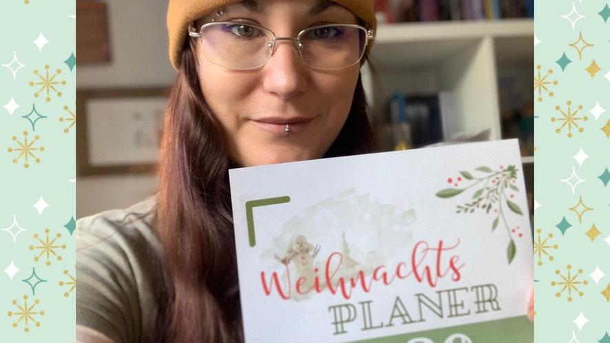Weihnachtsplaner Printable