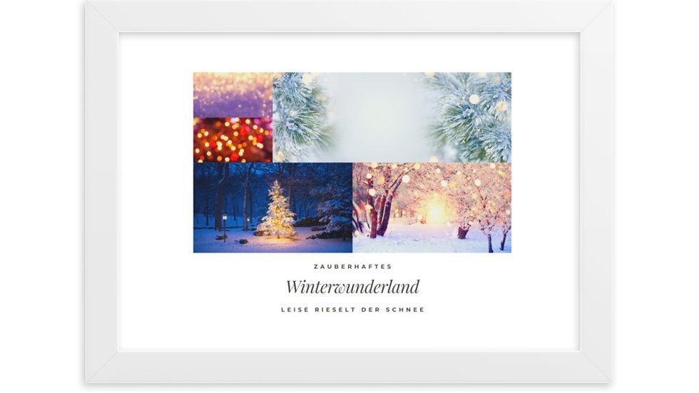 Artprint: Winterwunderland