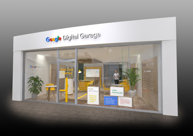Google pop-up shop
