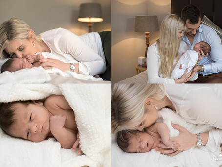 Home New Baby Session