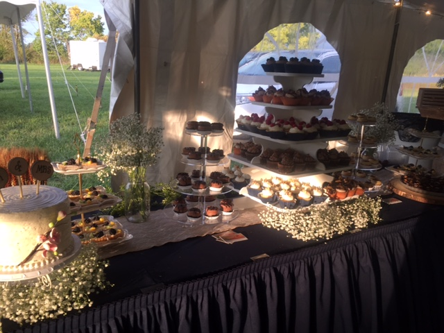 Summer Wedding Dessert Display