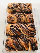 Chocolate Babka Loaves