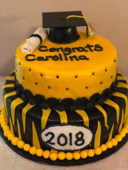 Custom Grad Cake