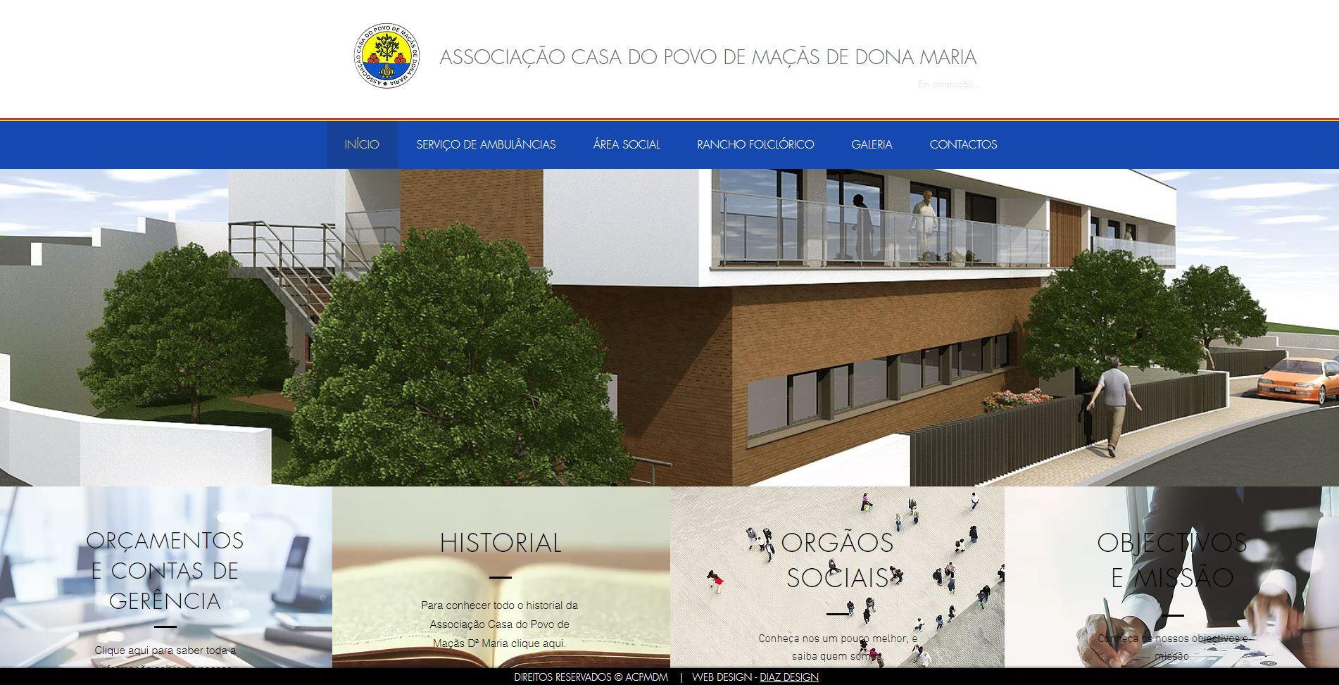 W - ASSOCIAÇÃO CASA DO POVO MAÇÃS Dª