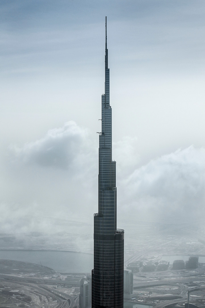 The world's tallest artificial structure