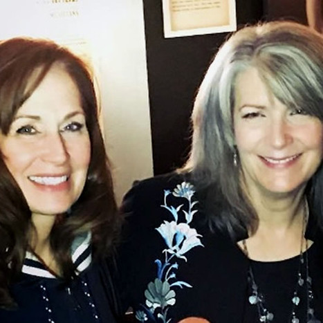 Kim with Kathy Mattea