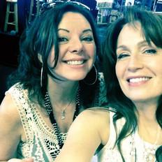 Kim with Marcia Ramirez