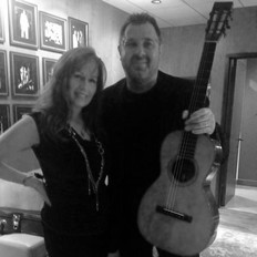 Kim with Vince Gill