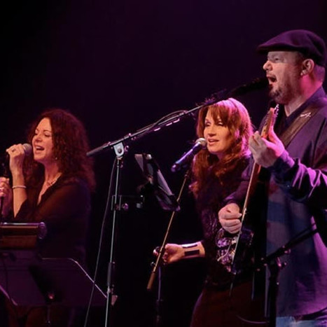Kim with Christopher Cross