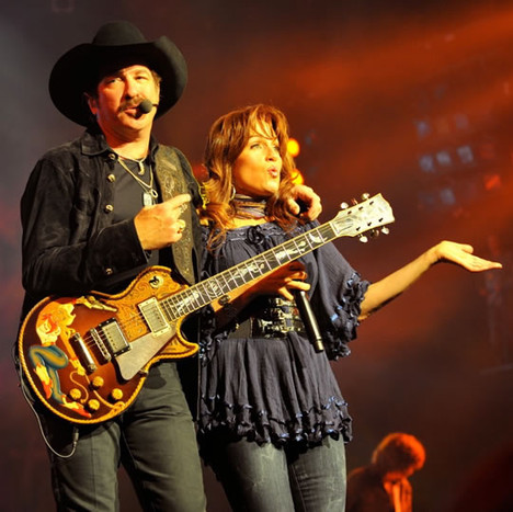 Kim and Kix Brooks