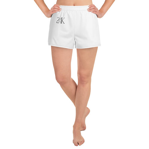 24K Women's Athletic Shorts
