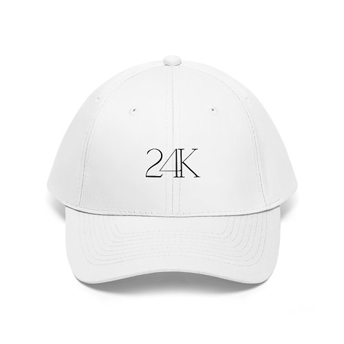 24K White Hat