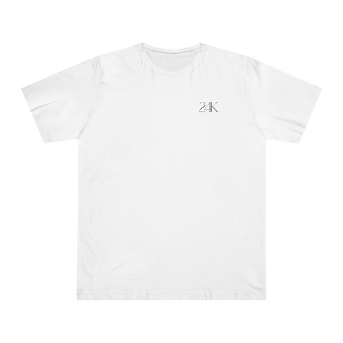 24K Unisex White Tee