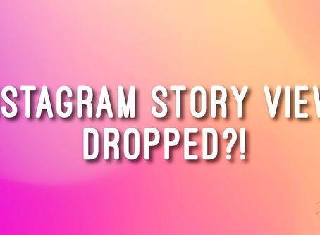 Инстаграм Story - Защо гледанията намаляха внезапно?!  Ето отговора.
