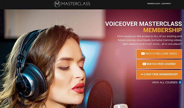 Voiceover Masterclass Membership Peter B