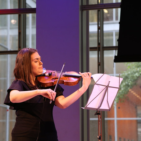 How the Violin Became an Instrument of Peace for Syrian Refugee, Mariela Shaker