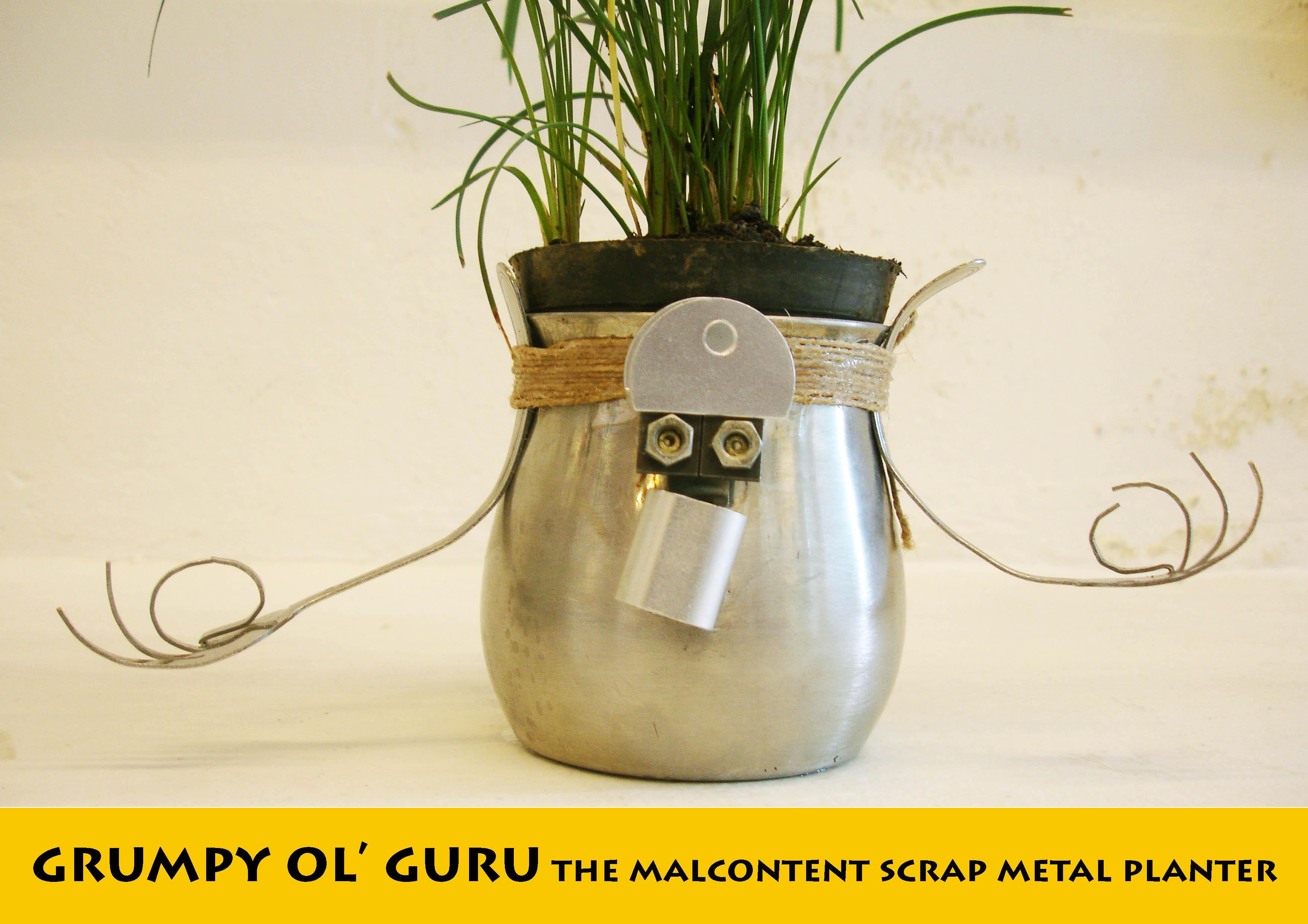 JUNK MUNKEZ - Upcycled yogi planter