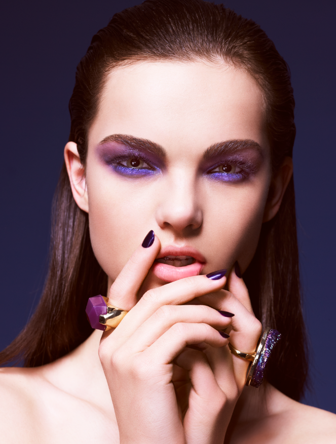 Jewel Toned Make-Up