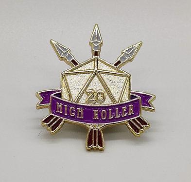 High Roller Pin - Archer