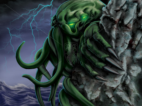 Cthulhu: Age of Madness Preview - Cthulhu Elder God Card